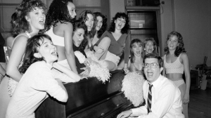 Marvin Hamlisch Singing with Actresses