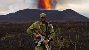 First Test Trek to the Volcano Eruption Site