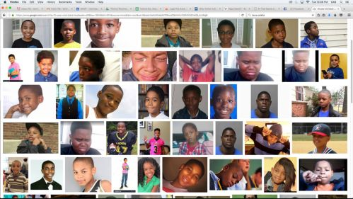18 black girls / boys